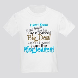 Big Deal Ring Bearer T-Shirt